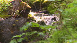 HD2008-8-7-44 mossy mtn stream Stock Video Footage
