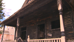 HD2008-8-8-6 arson house 2shot Footage