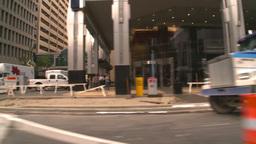 HD2008-8-8-20 drive DT buildings traffic Footage