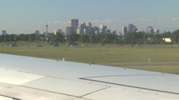 HD2008-8-9-6 jcgy skyline to 737 taxi Footage
