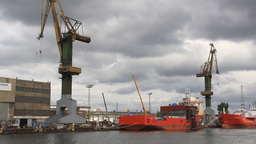 Gdansk shipyard (Polish: Stocznia Gdanska). Poland Live Action