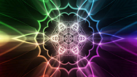 Kaleidoscope stock footage