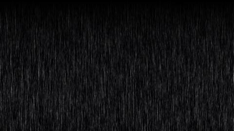 Heavy Rain Motion Background Animation