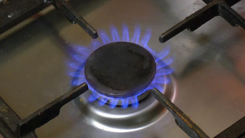 Gas Stove Ignition Footage