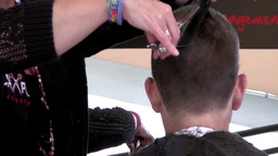 Hair Salon stock footage