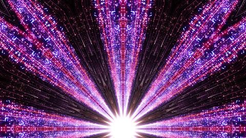 Space Stars radiant kaleidoscope BE 8 4k Animation