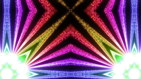 Space Stars radiant kaleidoscope BG 2ra 4k Animation