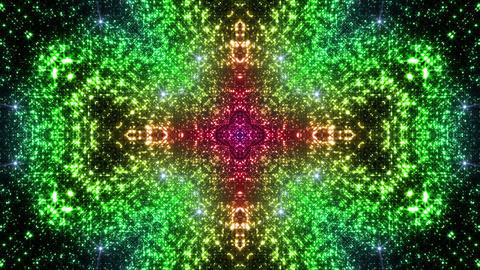 Space Stars radiant kaleidoscope C 6ra 4k Animation