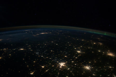 centplains iss 20120130 High Res 4k Stock Video Footage