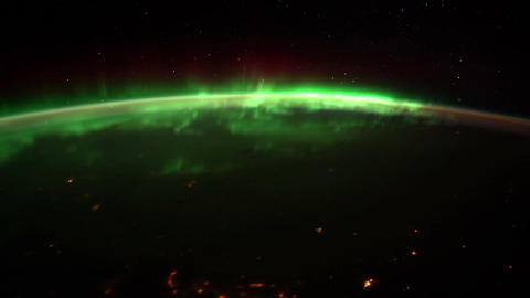 dakotaquebec iss 20120126 High Res HD Stock Video Footage