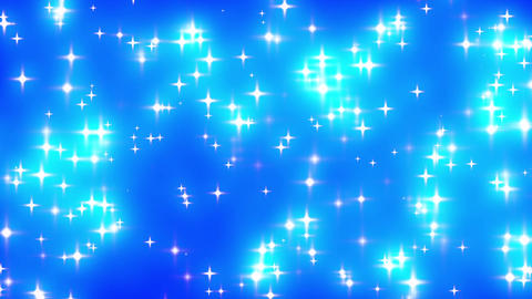 Blue Looping Glowing Stars Background 1 fast Stock Video Footage