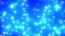 Blue Looping Glowing Stars Background 2 fast Animation