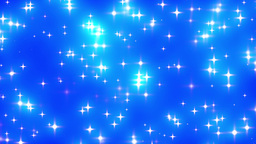 Blue Looping Glowing Stars Background 2 fast Stock Video Footage