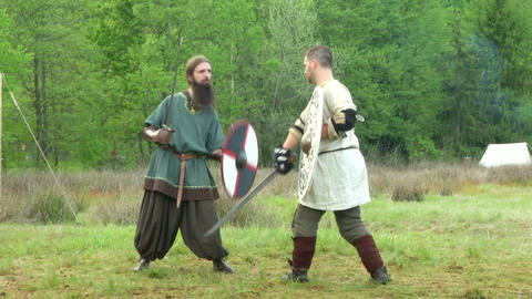 celtic warrior fight 15 Footage