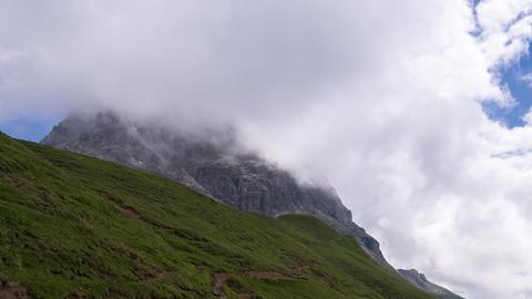 Wolken am Widderstein Footage