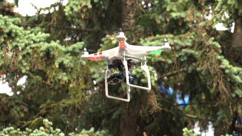 Multirotor, camcorder, Helicopter. 4K Footage