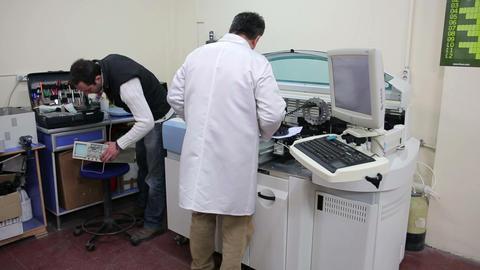 IZMIR, TURKEY - JANUARY 2013: Preparing laboratory Footage