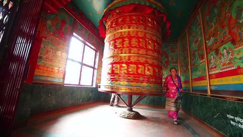 KATHMANDU, NEPAL - JUNE 2013: Nepalese people wors Footage