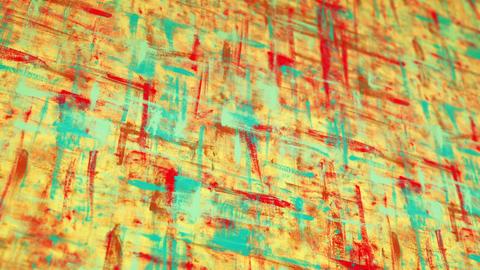 colorful grunge painted canvas pan loop Stock Video Footage