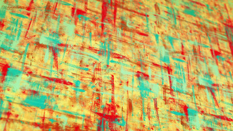 colorful grunge painted canvas pan loop Animation