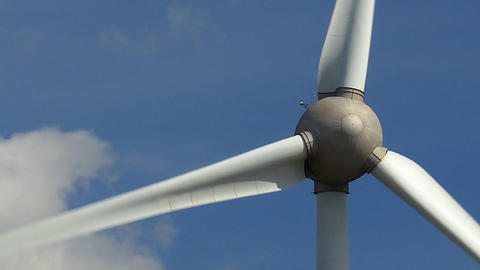 Wind Turbine Close Filmmaterial