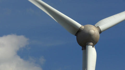 Wind Turbine Close Stock Filmmaterial