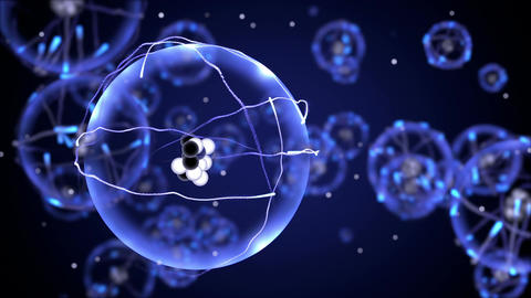 Chemistry Oxygen Atoms Animation