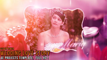 Wedding Love Story After Effects Template