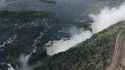 Victoria falls Stock Video Footage