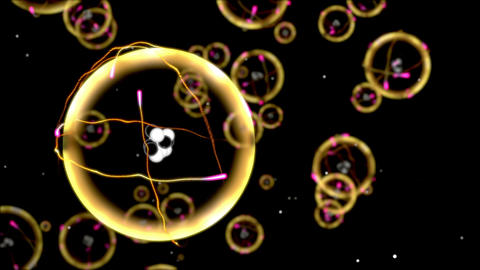 Chemistry and Science Carbon Atoms Animation