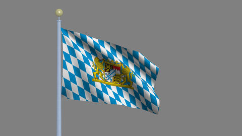 Flag of Bavaria Animation