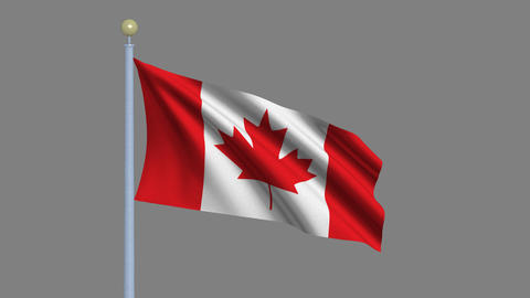 Flag of Canada Animation