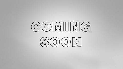 Coming Soon Count Down Stock Video Footage