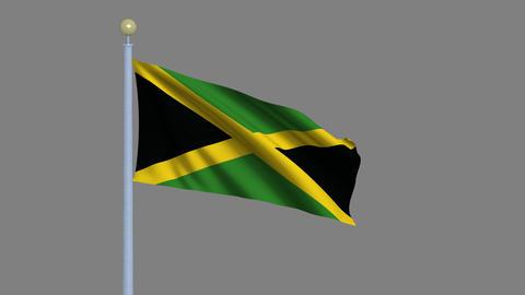 Flag of Jamaica Animation