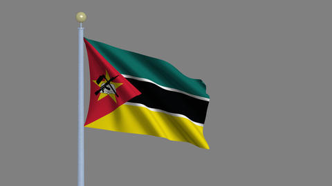 Flag of Mozambique Animation