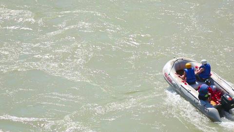 Motor boat Stock Video Footage