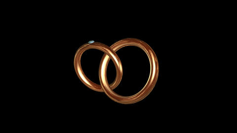 Engagement Ring Gold 01 Animation