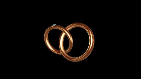 Engagement Ring Gold 01 Animation