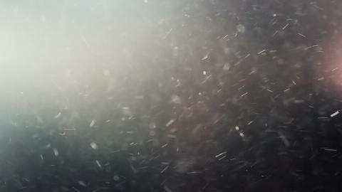 Dynamic dust particles Stock Video Footage