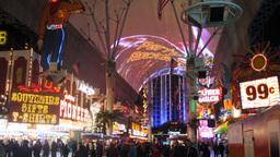 Las Vegas 5 Fremont Time-Lapse Footage