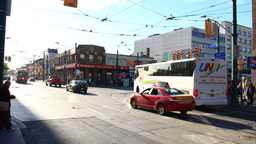 Chinatown Toronto Timelapse 2 Stock Video Footage