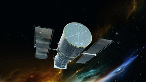 人工衛星 Animation