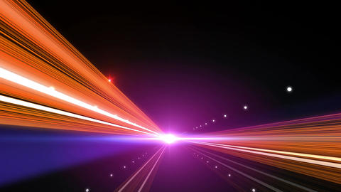 Light Streak Highway F 1 Ab 4 4k Animation
