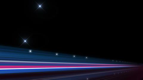 Light Streak Highway F 3 Ab 4 4k Stock Video Footage