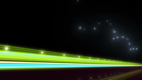 Light Streak Highway N 1 Bb 4 4k Stock Video Footage