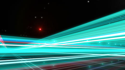Light Streak Highway R 1 Ab 4 4k Animation