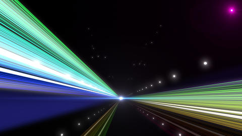 Light Streak Highway Z 1 Ab 4 4k Animation