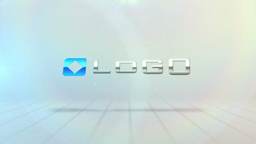 Logo and Text Spin Reveal After Effects Template