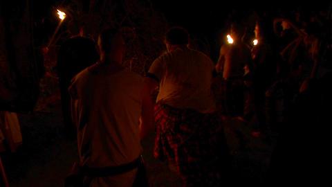 Beltane festival bonfire 01 Footage