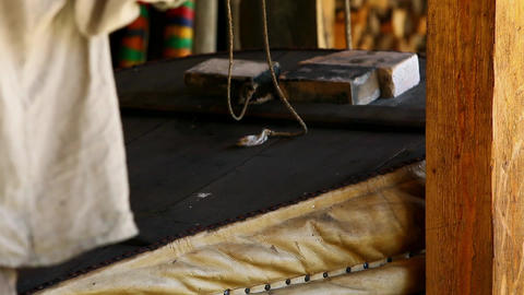 old blacksmith workshop Stock Video Footage